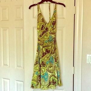 Beautiful paisley flower dress